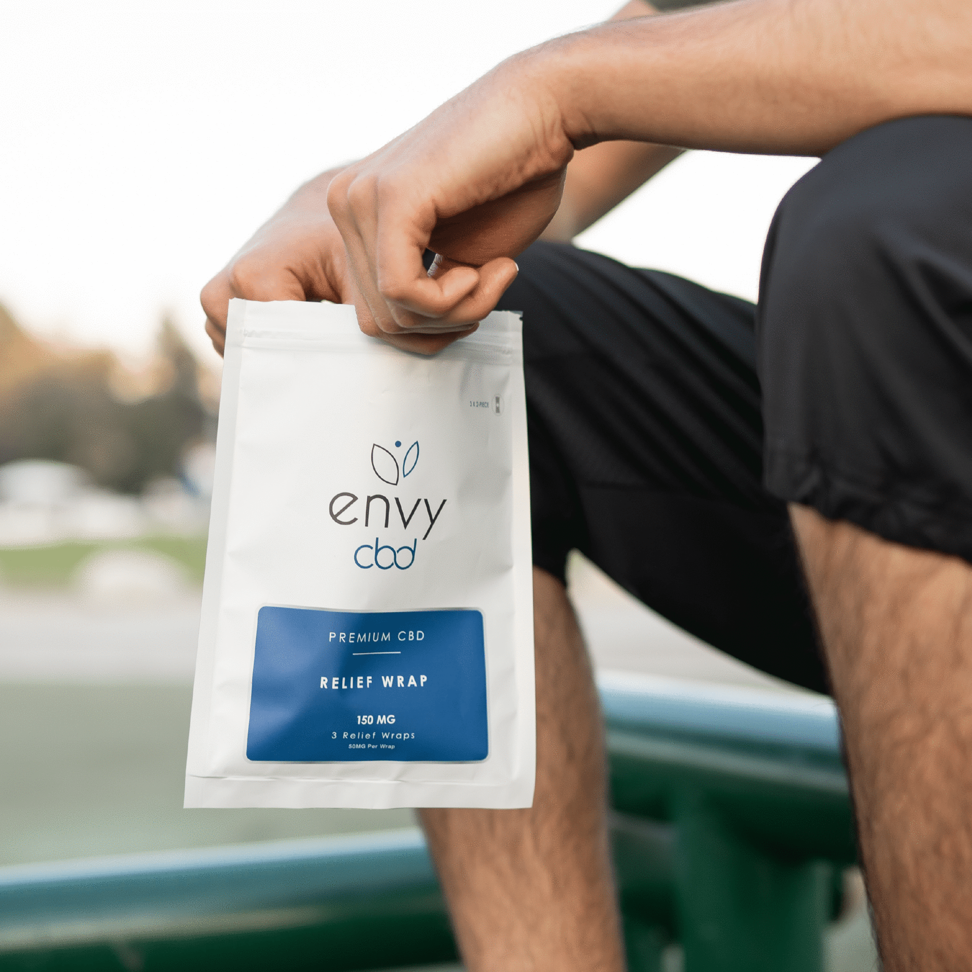Envy CBD Relief Patches (3-Pack) - All CBD Co