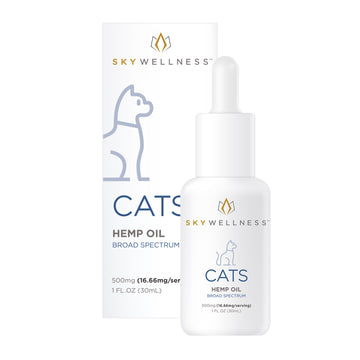 Sky Wellness - Hemp Oil Tincture For Cats
