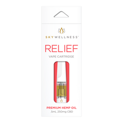 Sky Wellness - Relief Vape Cartridge