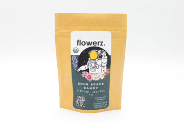 Flowerz- Sour Space Candy CBD Flower