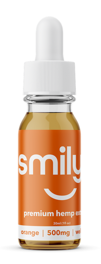 Smilyn - Orange Bliss Tincture - All CBD Co