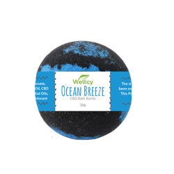 Wellicy CBD -  Ocean Breeze CBD Bath Bomb