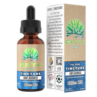Erth - THC Free CBD Tincture - All CBD Co.
