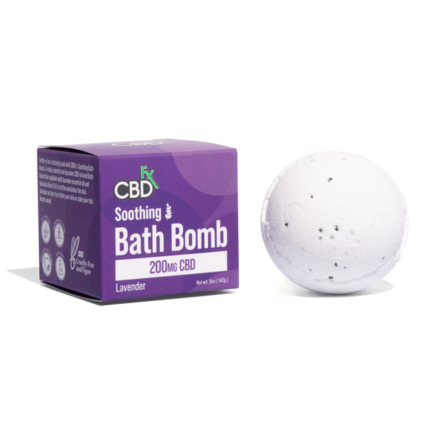 CBDfx - Soothing Bath Bomb (200mg) - All CBD Co