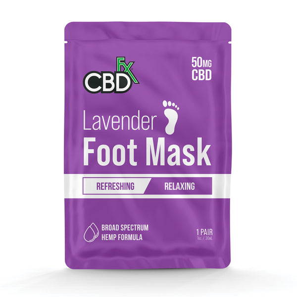 CBDfx - Lavender Foot Mask - All CBD Co.