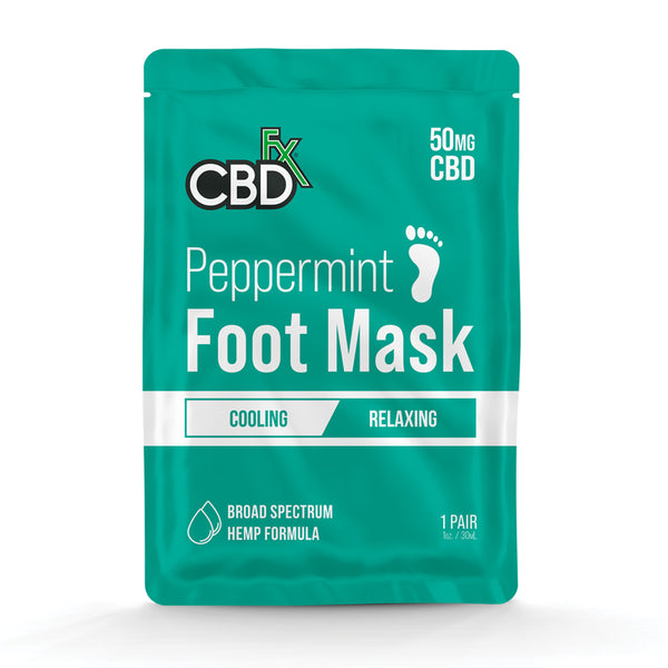 CBDfx - Peppermint Foot Mask - All CBD Co