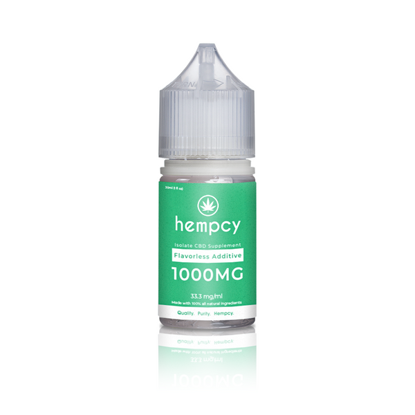 Hempcy - Flavorless Vape Additive - All CBD Co.