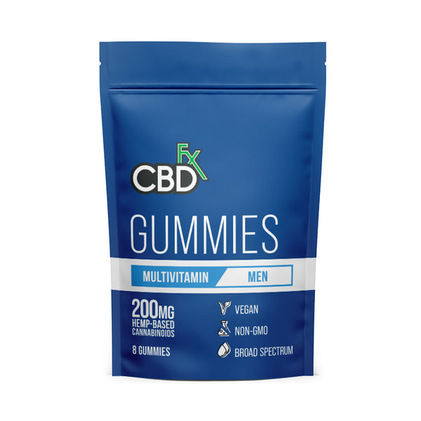 CBDfx - Gummies - Mens Multivitamin - All CBD Co.