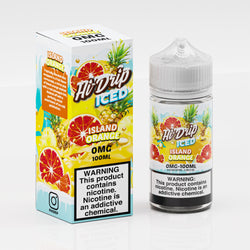 Hi Drip Iced E-Liquid - Island Orange Iced