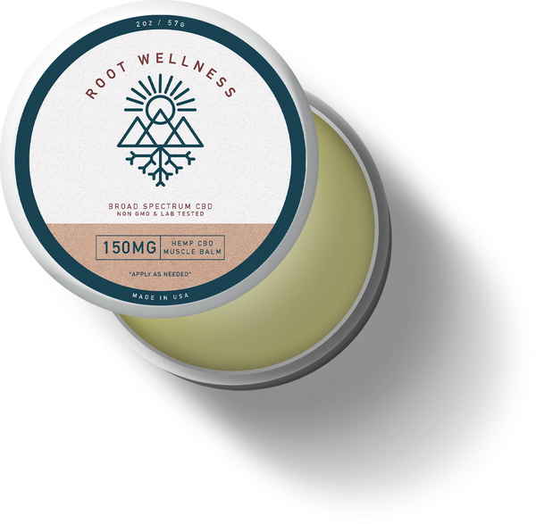 Root Wellness - Menthol Muscle Balm - All CBD Co