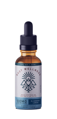 Root Wellness - Blueberry Lemon Tincture - All CBD Co.