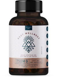 Root Wellness - Raw CBD Capsules - All CBD Co