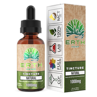 Erth - Natural CBD Tincture - All CBD Co.
