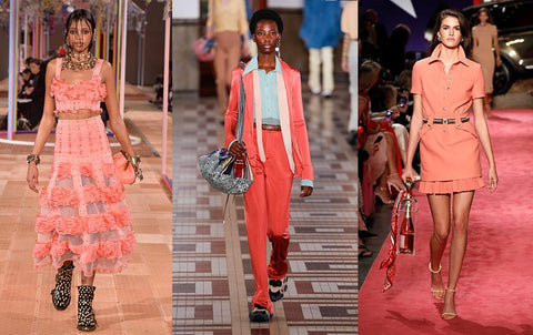 Coral is the color of the year