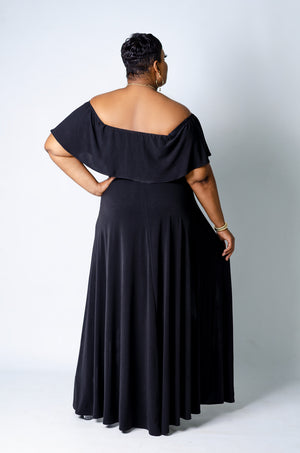 Unleashed Maxi Romper - Black