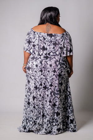 Overflow Maxi Dress