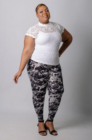 Wisp Lace Top - White