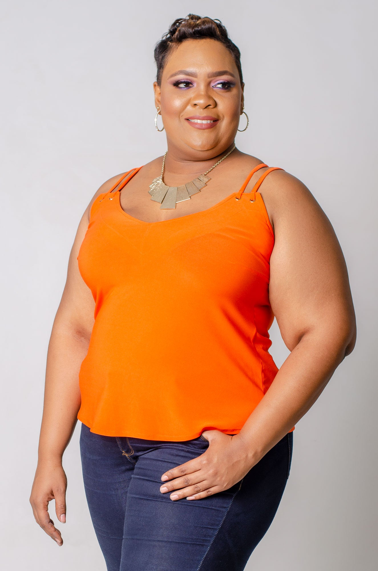 Fiona Top - Orange