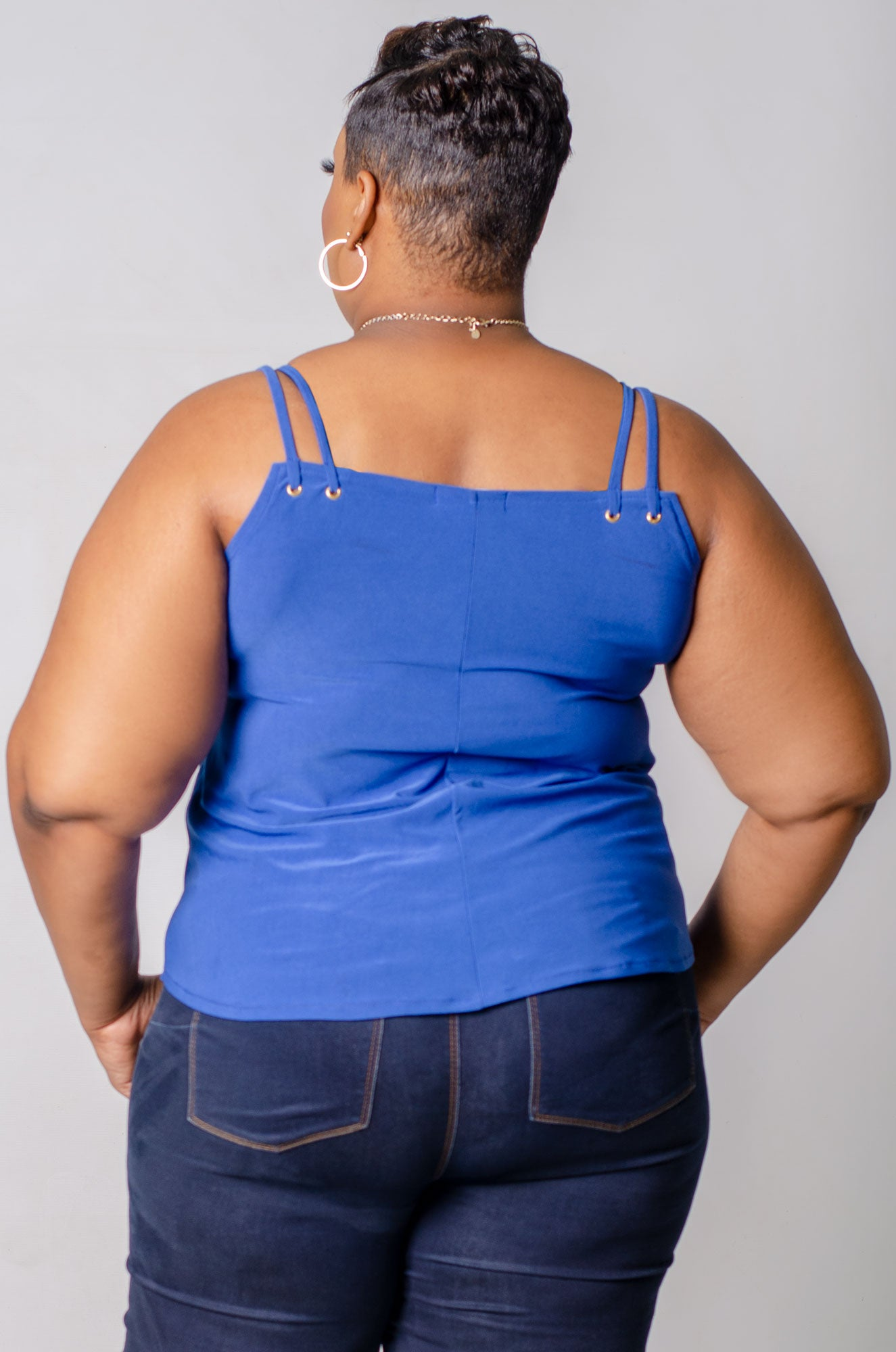 Fiona Top - Blue