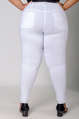 Phierce Fit Pants - White
