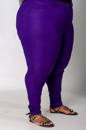 Phierce Fit Pants - Purple