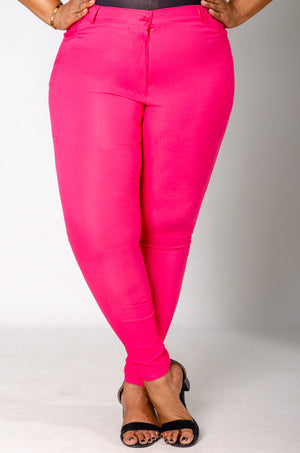 Phierce Fit Pants - Pink