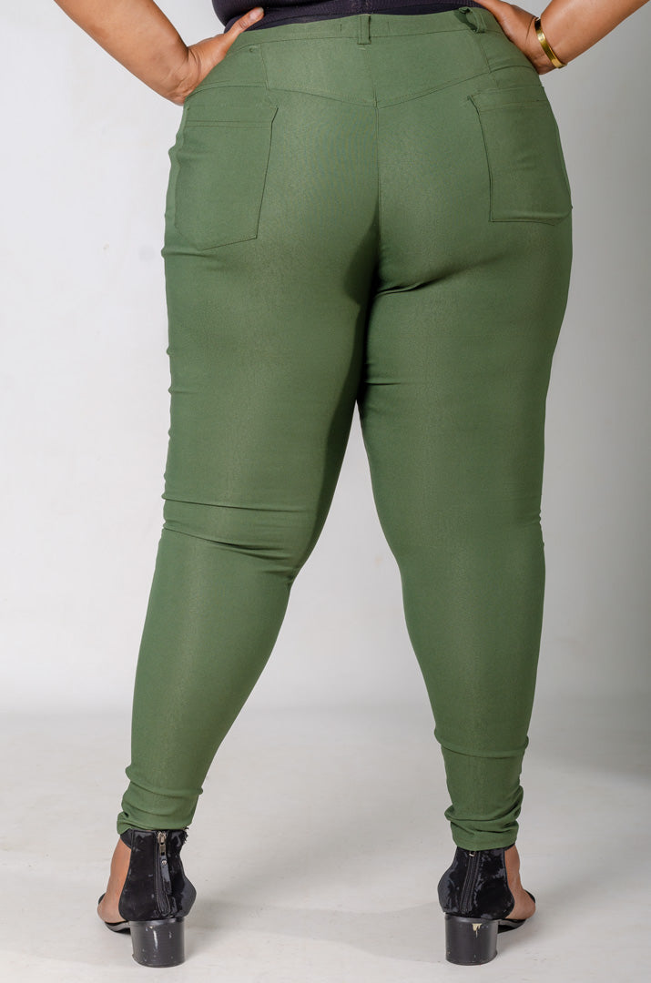 Phierce Fit Pants - Green