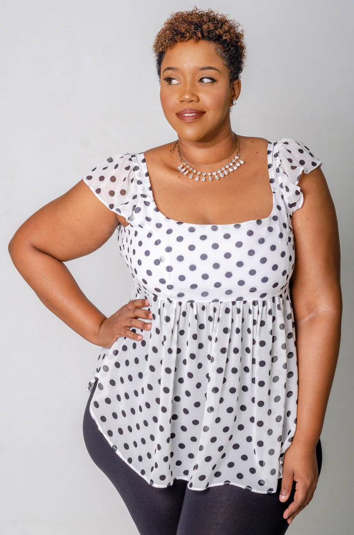 Chic Dots Top