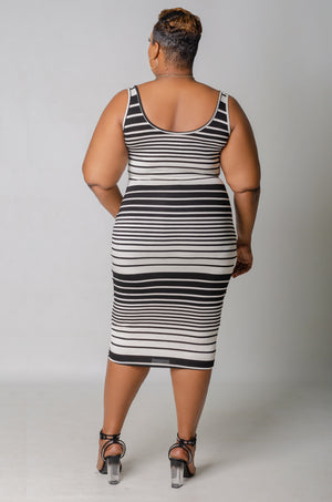 Along the Lines Dress