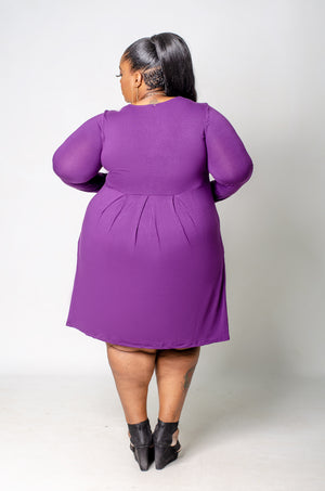 Day Trip Dress - Purple