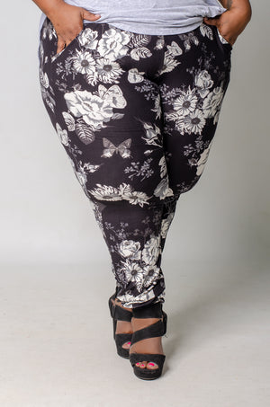 Grey Gardens Slim Fit Joggers