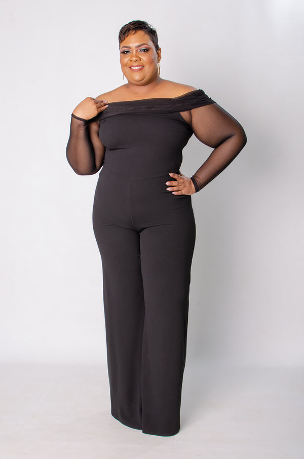 Sheer the Love Jumpsuit