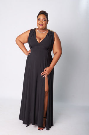 Majesty Dress - Black