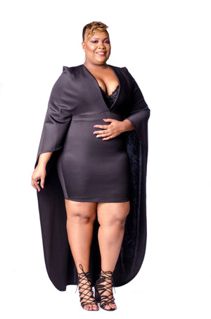 Dashing Dress Dress Phierce Plus Black Size 1