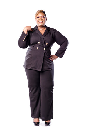 Nora Pant Set Set Phierce Plus Black Size 0 to 1