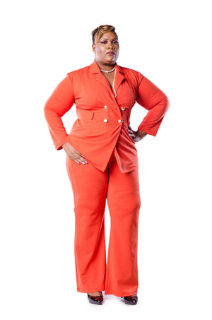 Nora Pant Set Set Phierce Plus Orange Size 0 to 1
