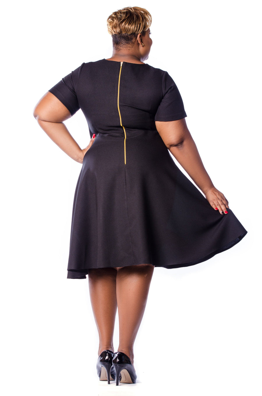 Octavia Dress Dress Phierce Plus Size 1 Black