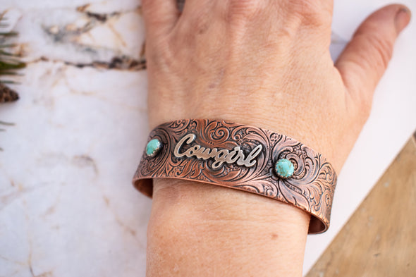Personalized Copper Bracelet