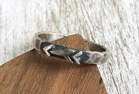 3mm Arrow Ring