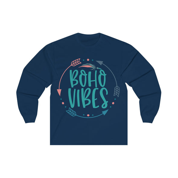 Boho Vibes Women's Long Sleeve Tee