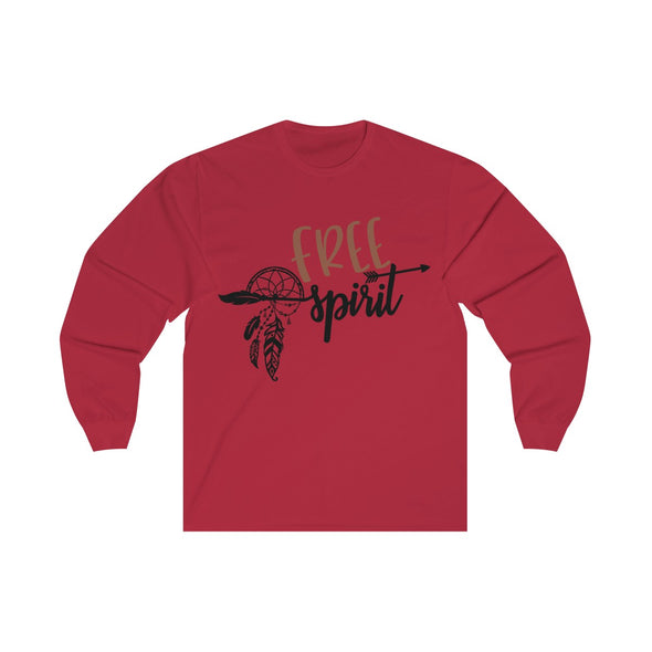 Free Spirit Long Sleever Crewneck Shirt