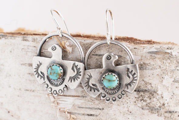 Thunderbird Earrings