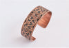 Copper Flourish Cuff Bracelet
