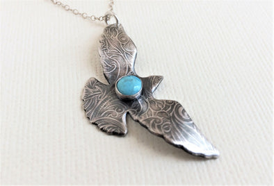 Souring Bird Necklace