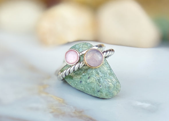 Pink Sea Shell Ring
