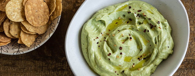 Avocado and tahini dip