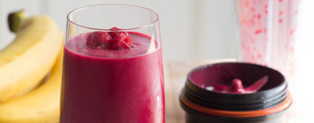 Beetroot-berry energising smoothie