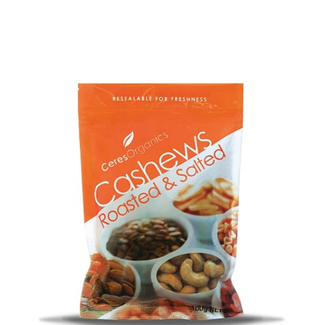 Ceres Organics Roast Salted Cashews