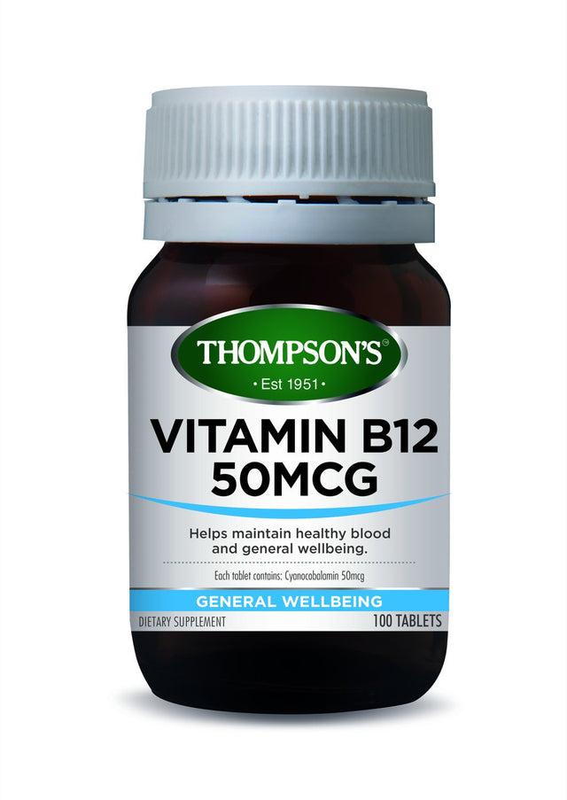 Thompson's Vitamin B12 50mcg
