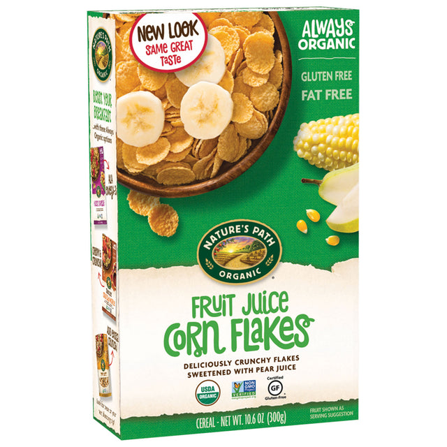 Nature's Path Juice Corn Flakes